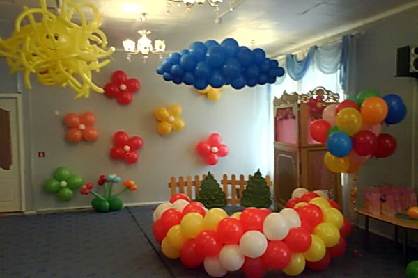 Украшение группы детского сада к новому году с фото своими руками