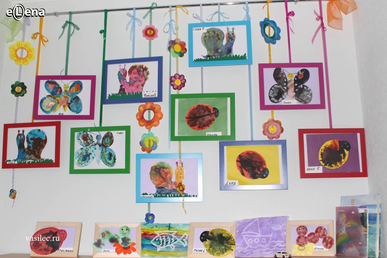 Оформления раздевалки в детском саду