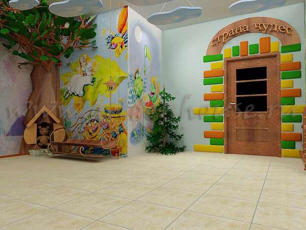 Оформление детского сада на 23 февраля