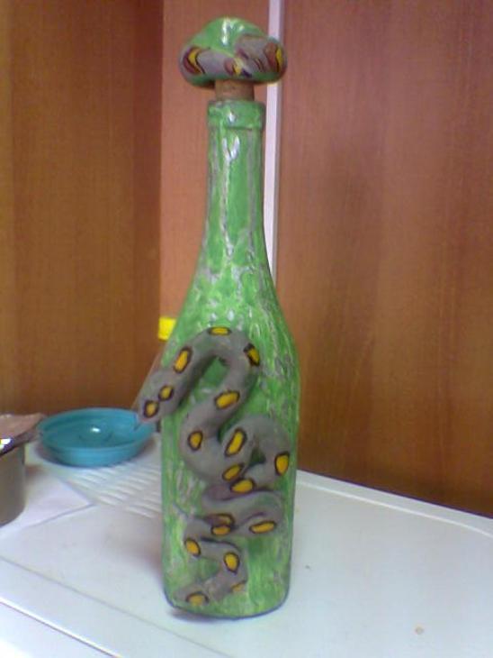 Снегурочка из пластиковых бутылок своими руками мастер